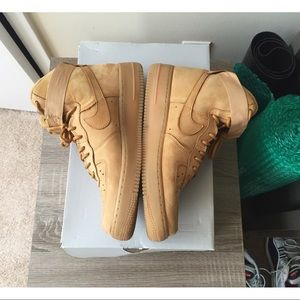 Air Force 1 Scarpe Da Donna Di Alta Grano zuThuuR